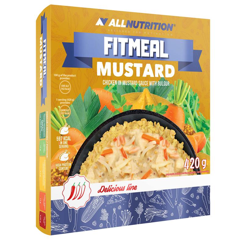 ALLNUTRITION Fitmeal Mustard