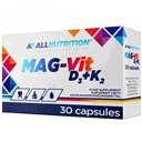 ALLNUTRITION Mag-Vit D3+K2 30 kapsułek