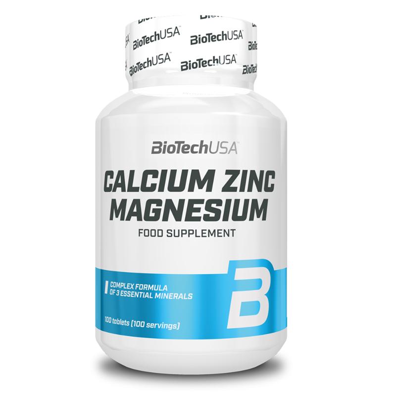 BioTechUSA CALCIUM ZINC MAGNESIUM