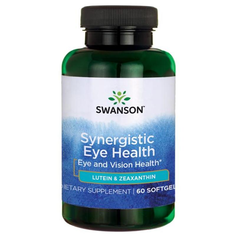 Swanson Synergistic Eye Health Lutein & Zeaxanthin