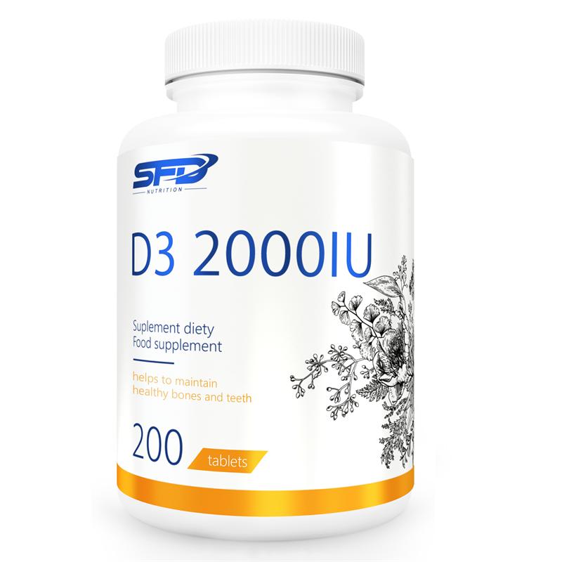 SFD NUTRITION D3 2000