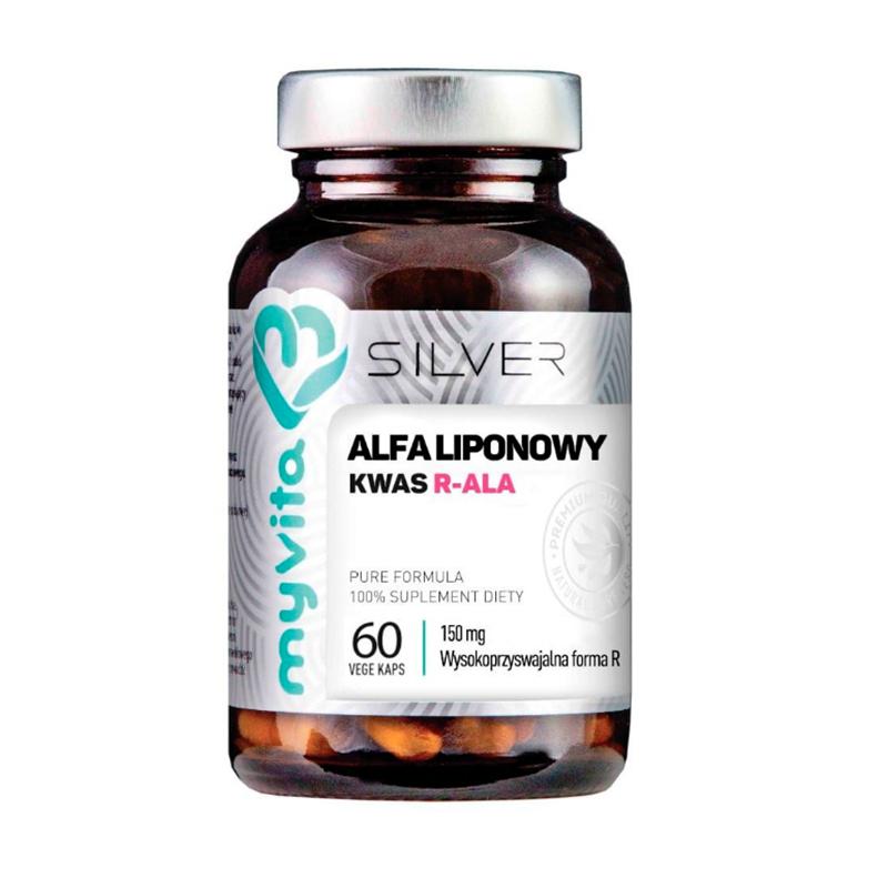 MyVita Silver Kwas Alfa Liponowny Forma R-ALA