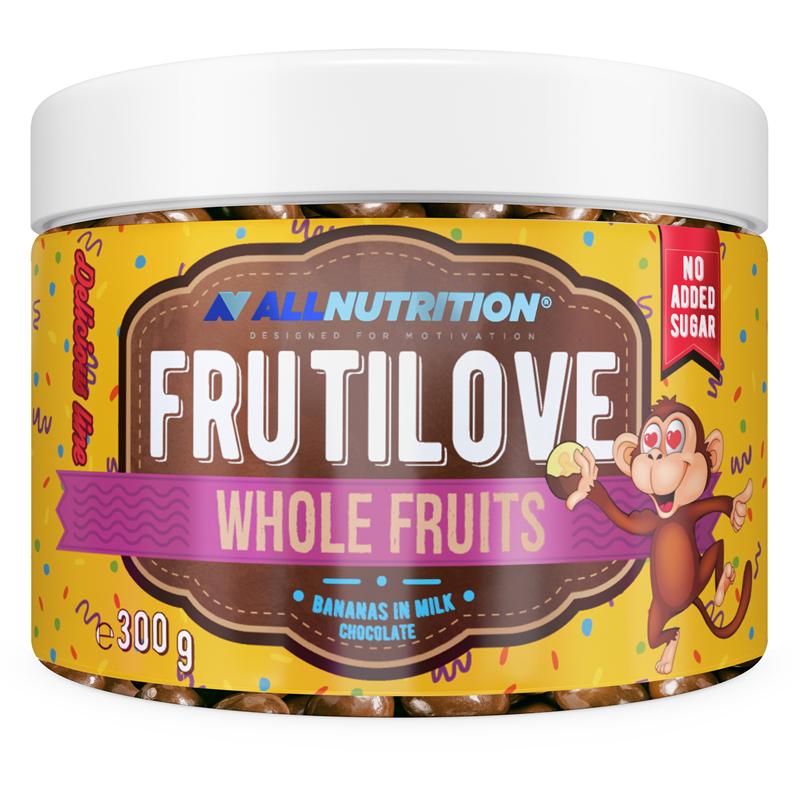 ALLNUTRITION FRUTILOVE Whole Fruits - Banany W Mlecznej Czekoladzie