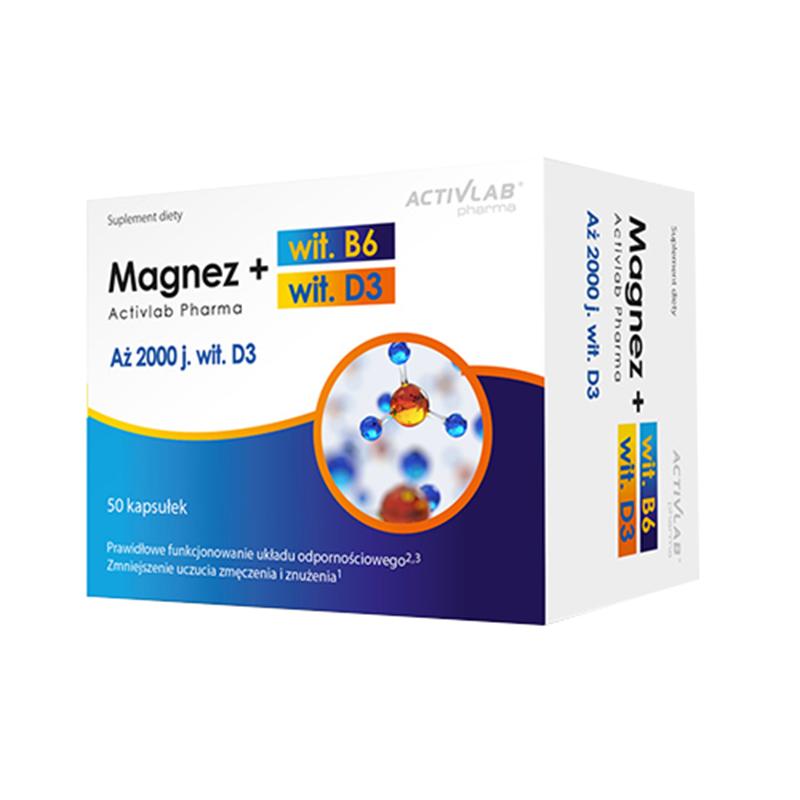 ActivLab Magnez B6 + D3