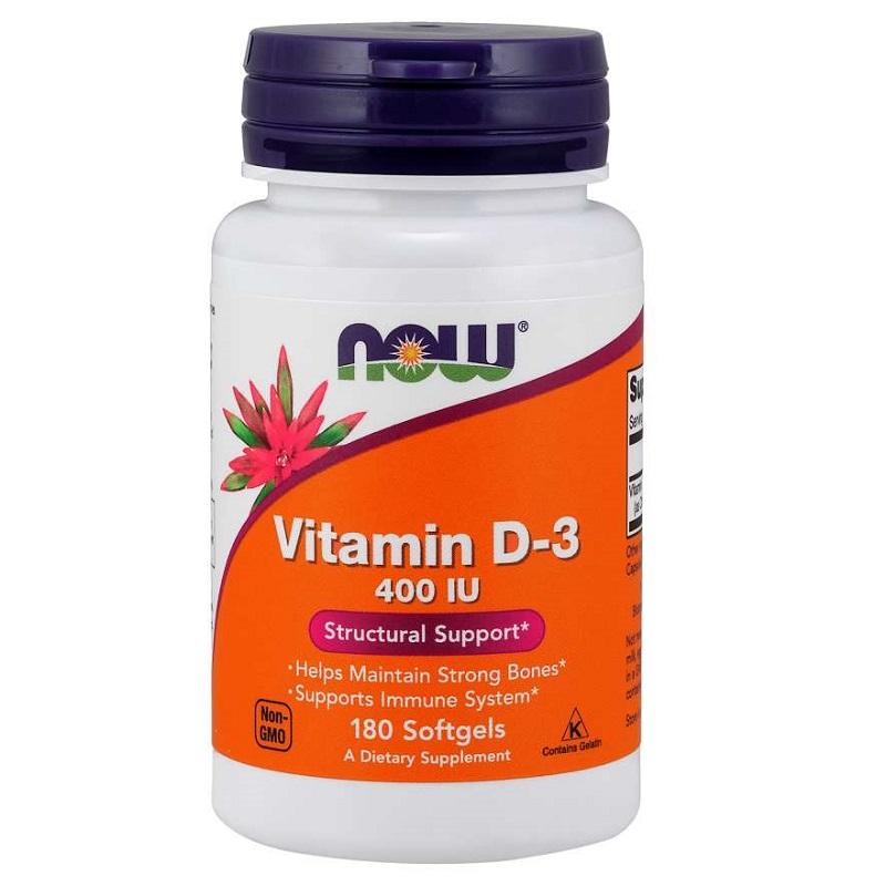 Now Vitamin D-3