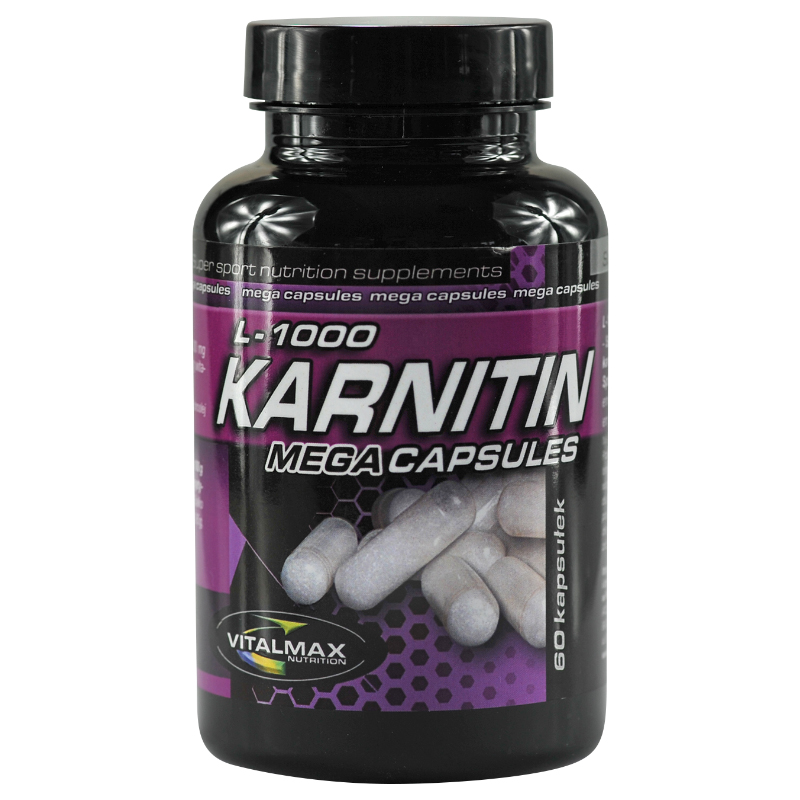 Vitalmax Karnitin L-1000 Mega Capsules