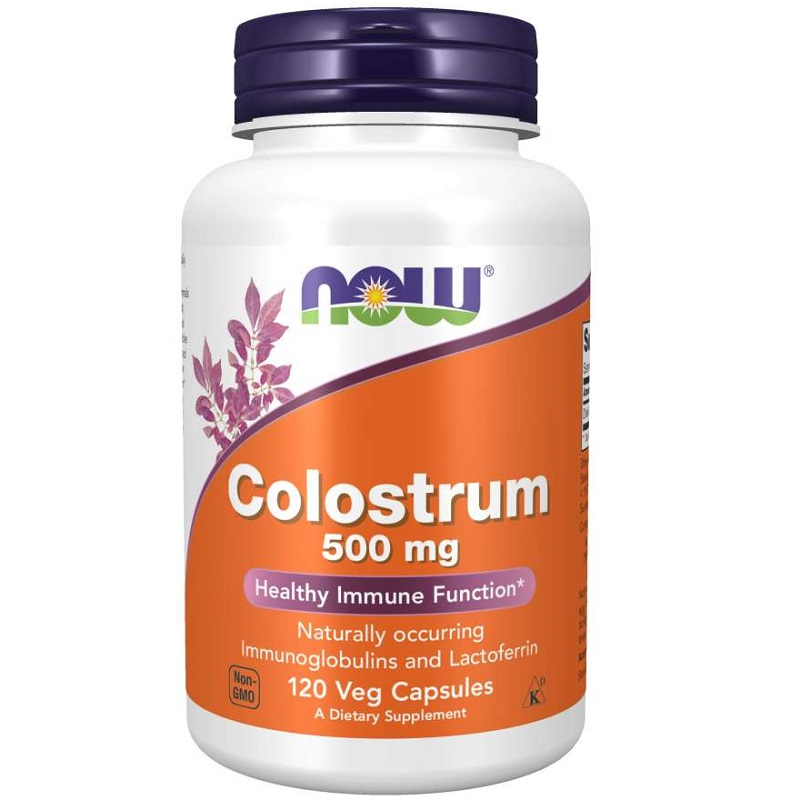 Now Colostrum 500 mg