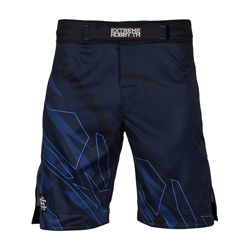 Extreme Hobby Spodenki Grappling Shadow Blue