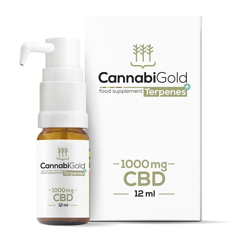 CannabiGold CannabiGold Terpenes+ 1000MG