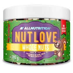 NUTLOVE WHOLENUTS - Orzechy Laskowe W Ciemnej, Mlecznej I Białej Czekoladzie