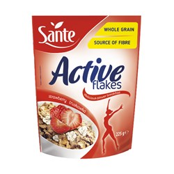 Active Flakes