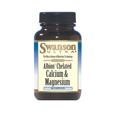 Albion Chelated Calcium & Magnesium