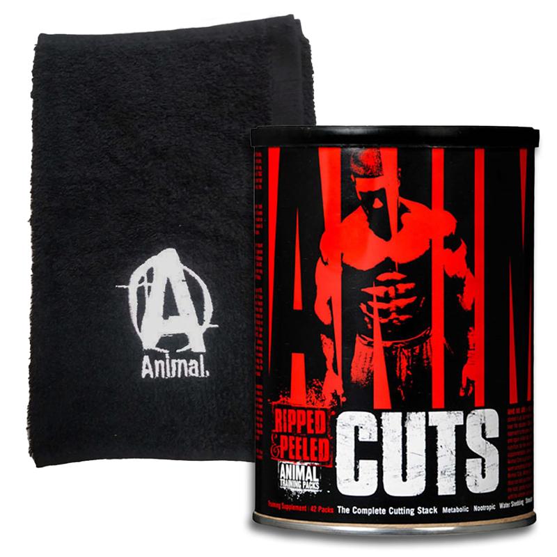 Universal Nutrition Animal Cuts 42pak + Ręcznik
