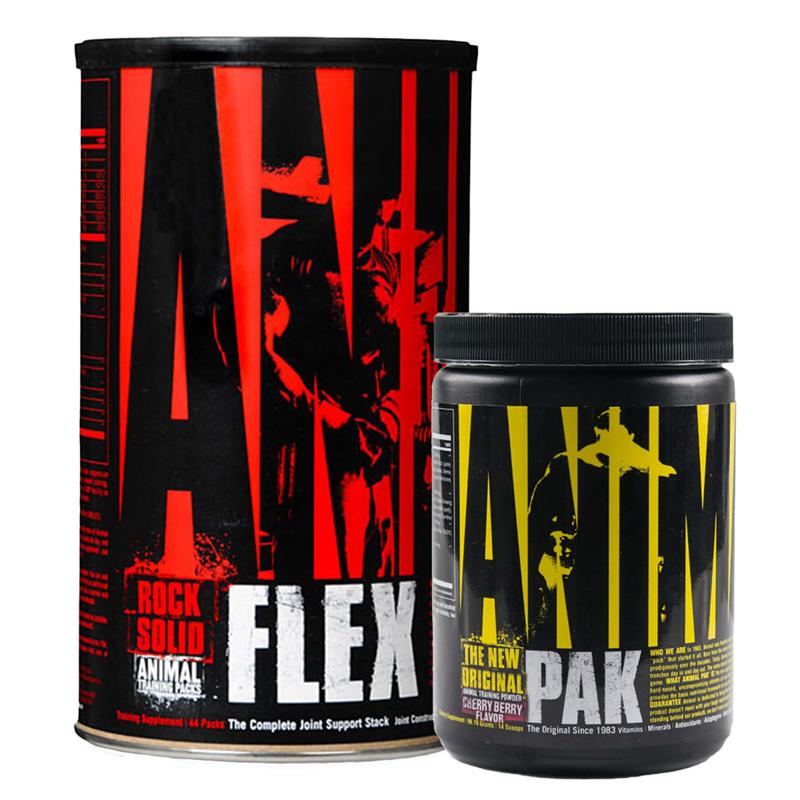 Universal Nutrition Animal Flex 44pak + Animal Pak 117g GRATIS