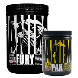 Animal Fury 480g + Animal Pak 117g GRATIS