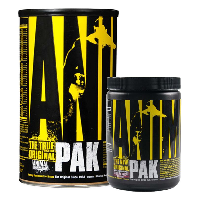 Universal Nutrition Animal Pak 44pak + Animal Pak 117g GRATIS
