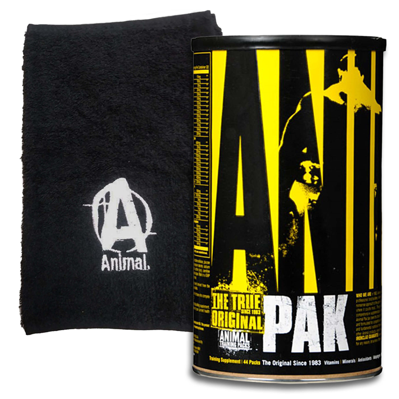 Universal Nutrition Animal Pak 44pak + Ręcznik