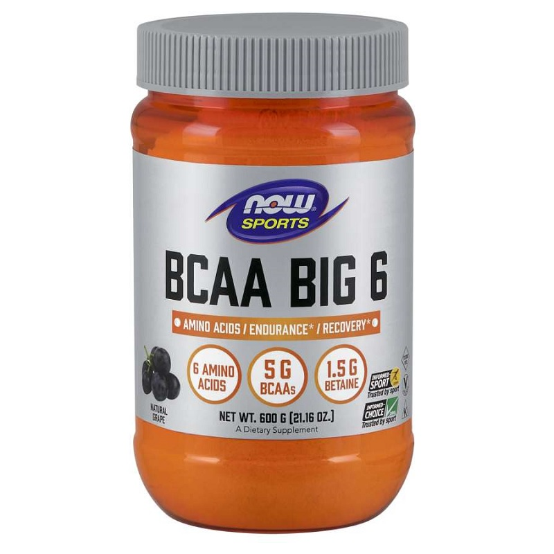 Now BCAA BIG 6 Powder