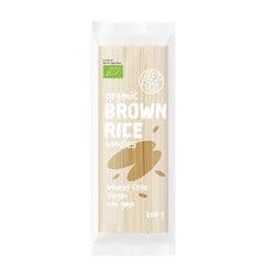 Bio makaron z brązowego ryżu 100%