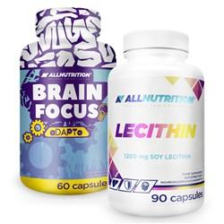 Brain Focus 60caps + Lecithin 90caps