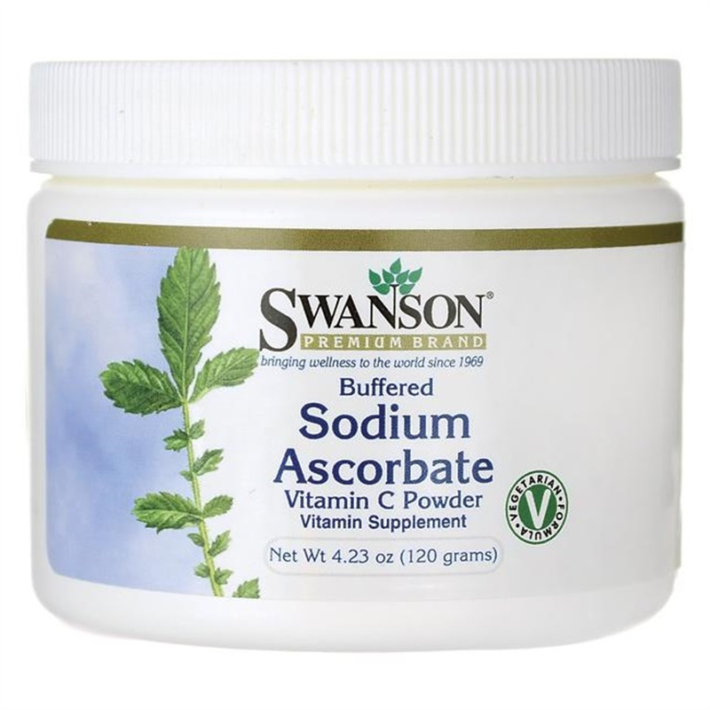 Swanson Buffered Sodium Ascorbate Vitamin C Powder