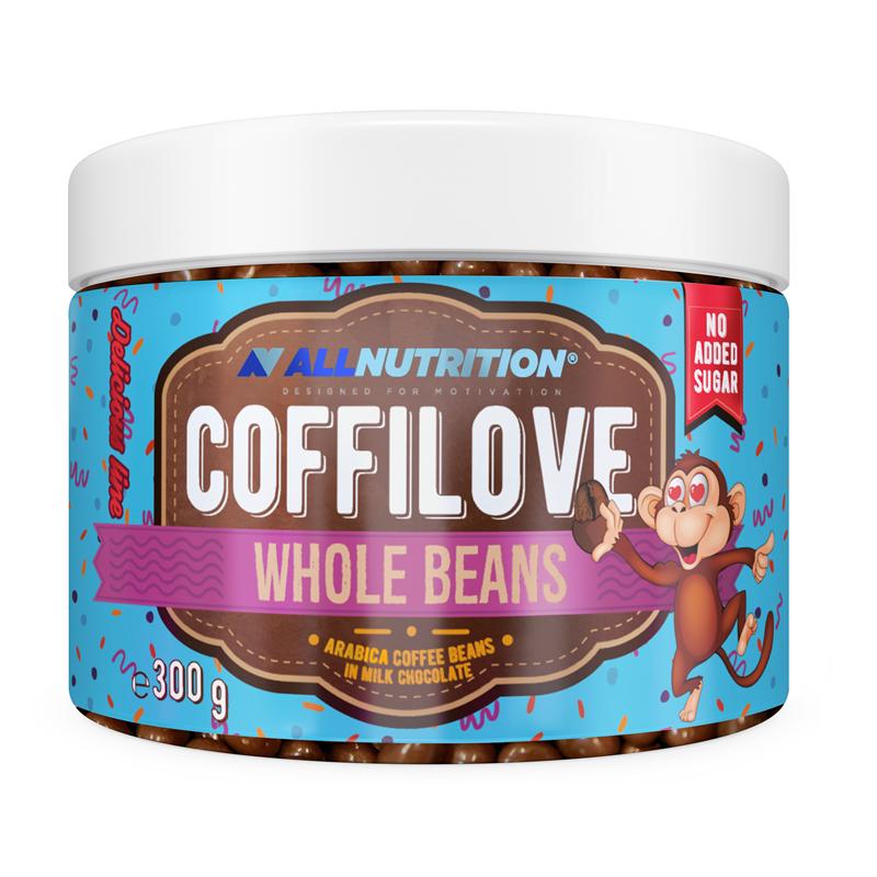 COFFILOVE Ziarna Kawy W Mlecznej Czekoladzie