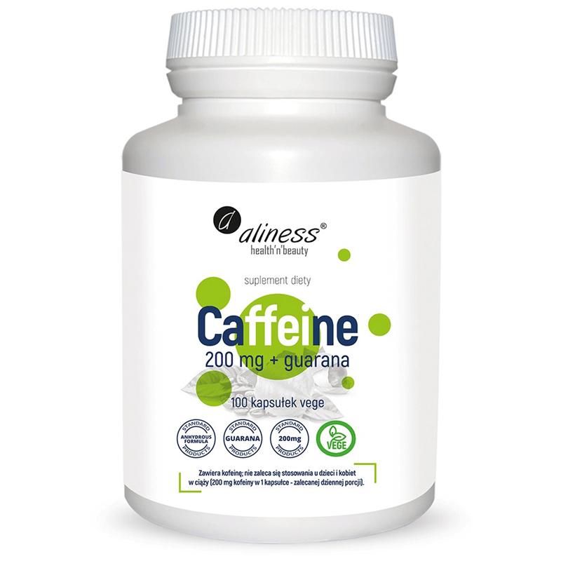 Medicaline Caffeine 200mg + Guaranaps