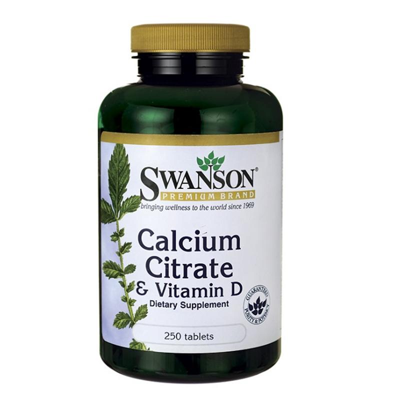 Swanson Calcium Citrate & Vitamin D