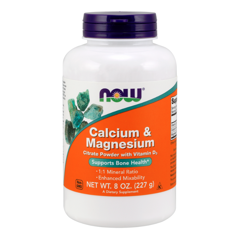 Now Calcium Magnesium Cirate Powder