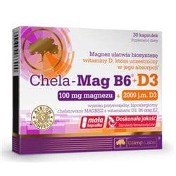 Chela-Mag B6 + D3