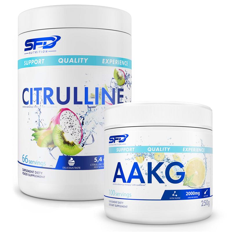 SFD NUTRITION Citrulline 400g + AAKG 250g