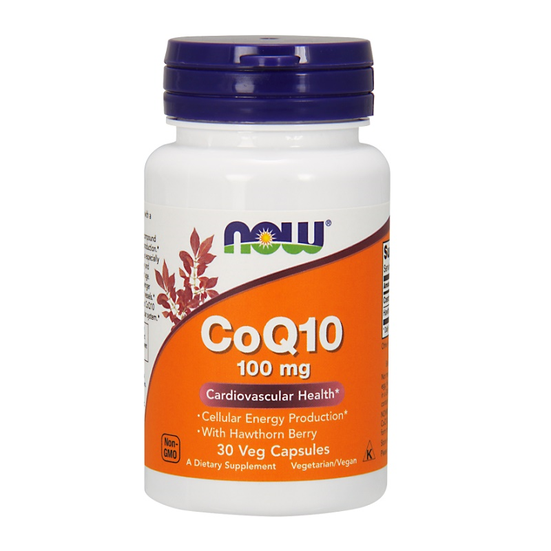 Now CoQ10 with Hawthorn Berry