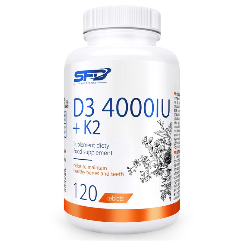 SFD NUTRITION D3 4000 + K2