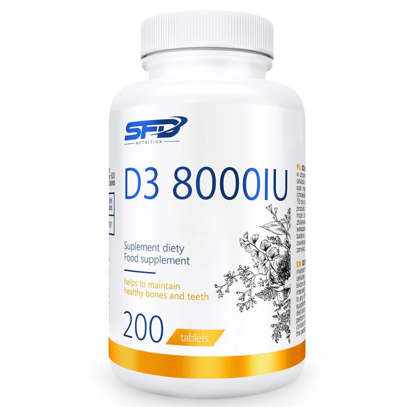 SFD NUTRITION D3 8000