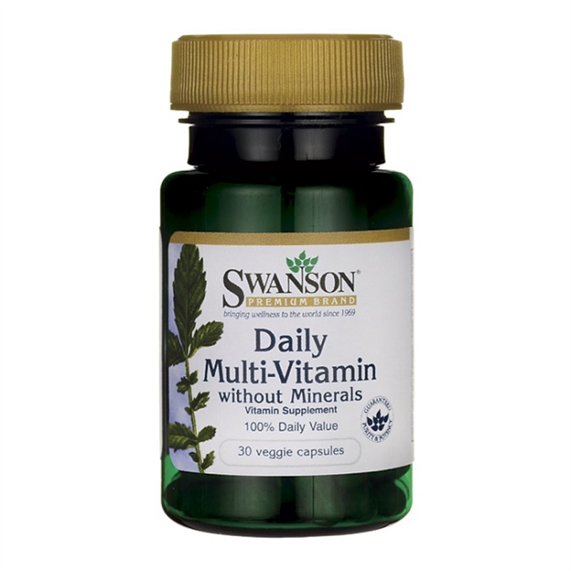Swanson Daily Multi-Vitamin without Minerals