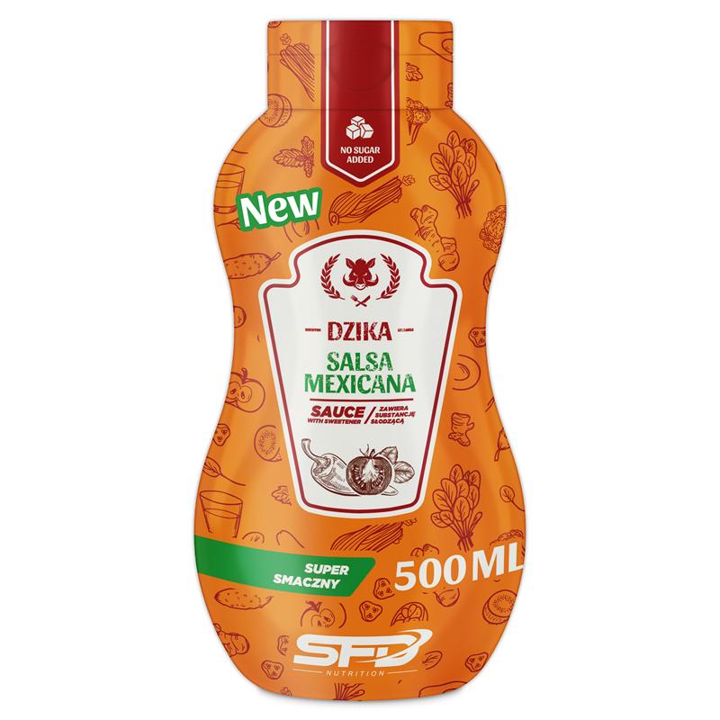 SFD NUTRITION Dziko Wytrawny Sos NEW
