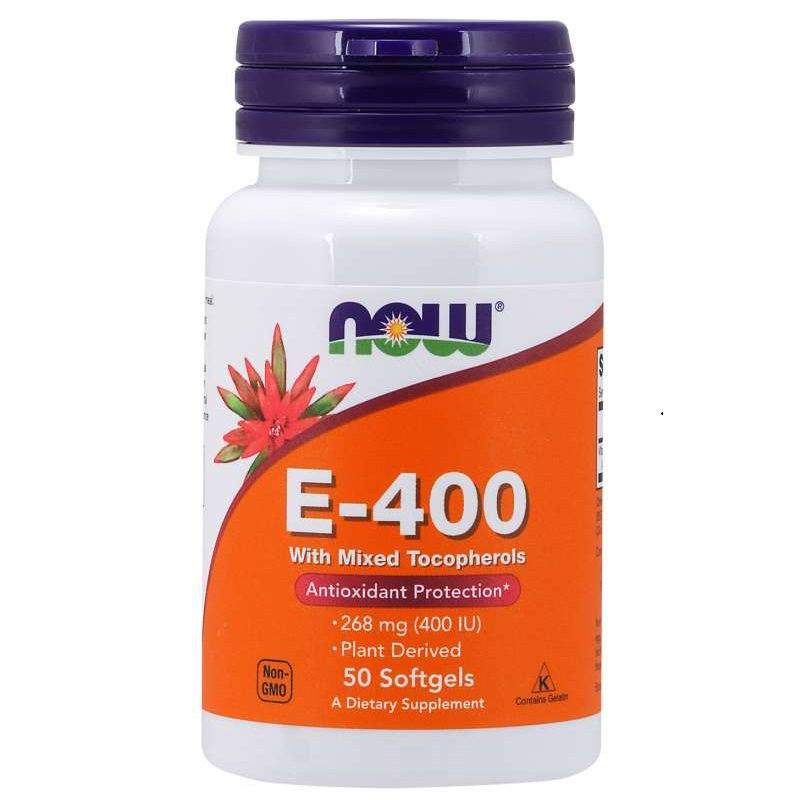 Now E-400 With Mixed Tocopherols