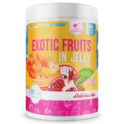 Exotic Fruits In Jelly