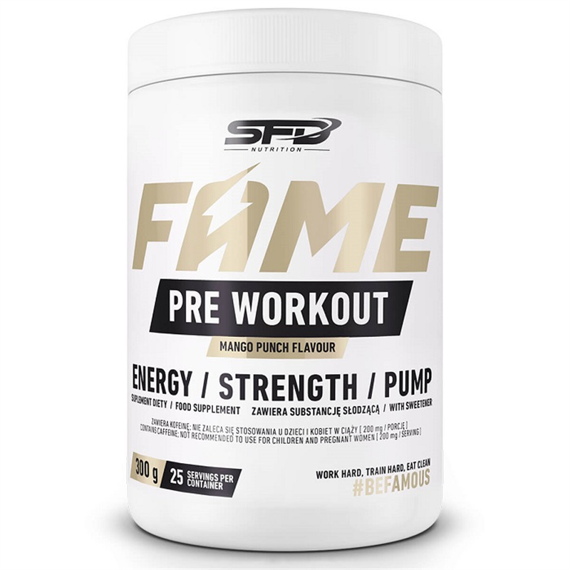 SFD NUTRITION FAME Pre Workout