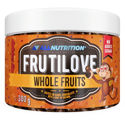 FRUTILOVE Whole Fruits - Daktyle W Ciemnej Czekoladzie Z Nutą Pomarańczy