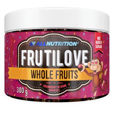 FRUTILOVE Whole Fruits - Żurawina W Ciemnej Czekoladzie