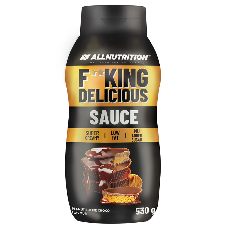 ALLNUTRITION Fitking Delicious Sauce Peanut Butter Choco