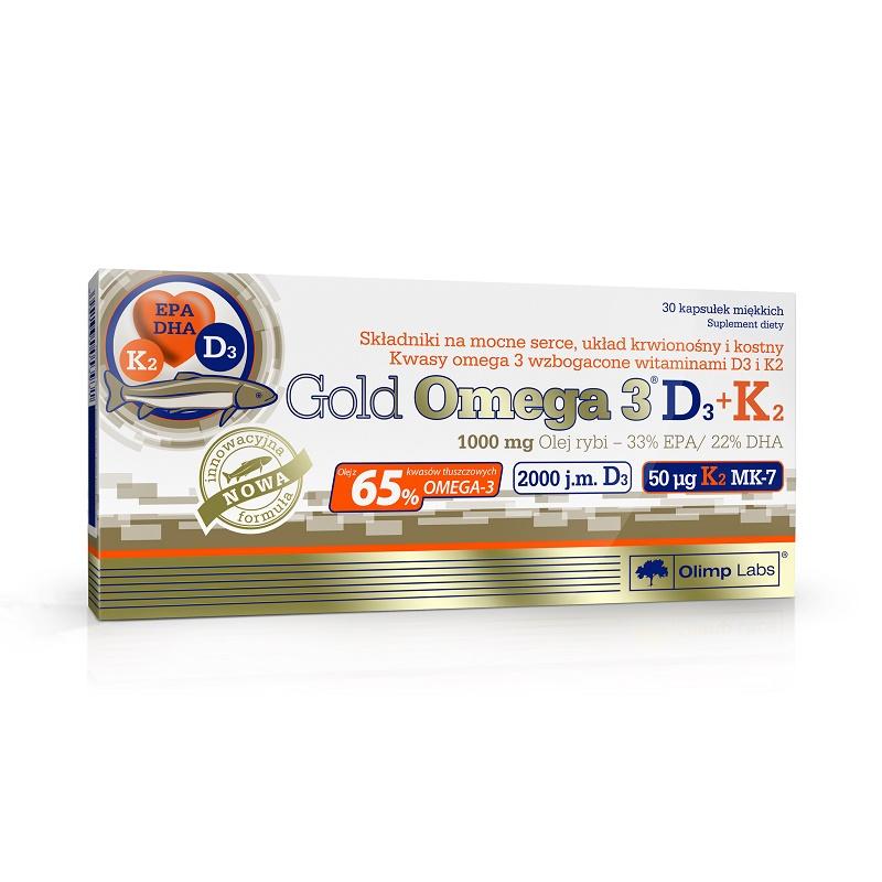Olimp Gold Omega 3 D3 + K2