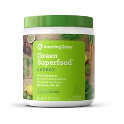 Green Superfood Energy Lemon - Lime