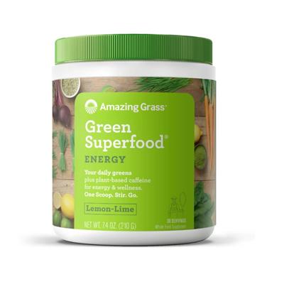 Green Superfood Energy Lemon - Lime