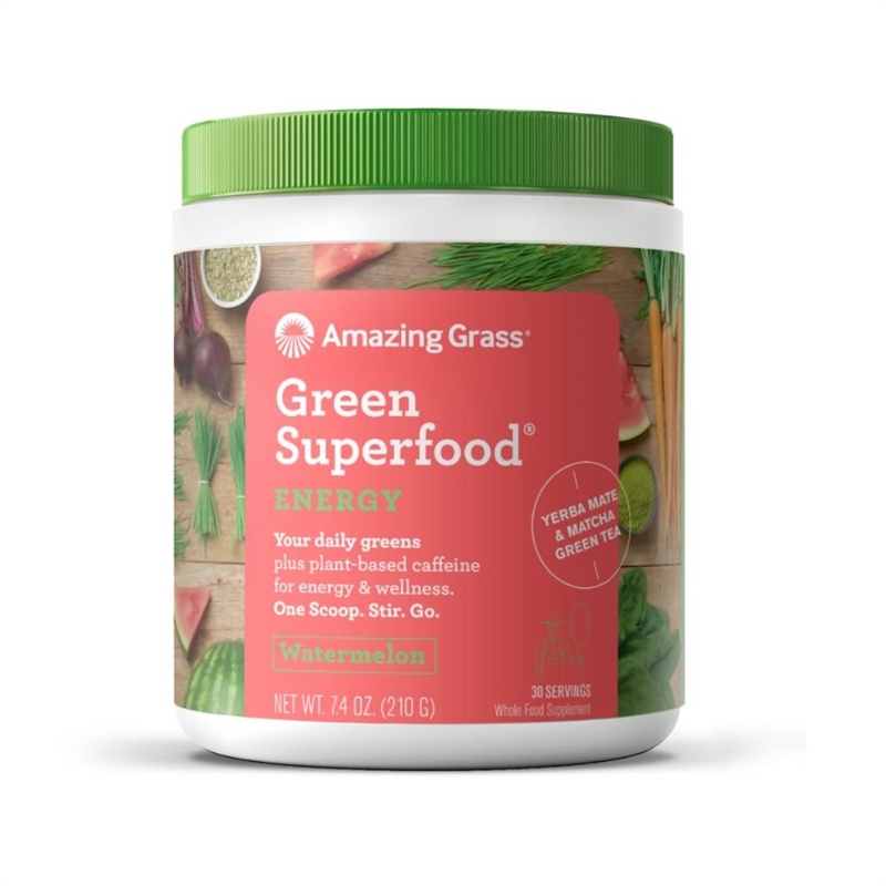 Green Superfood Energy Watermelon