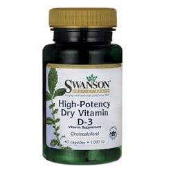 High-Potency Dry Vitamin D-3