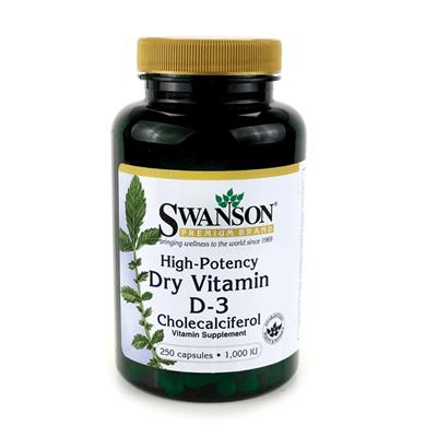 High-Potency Vitamin D-3