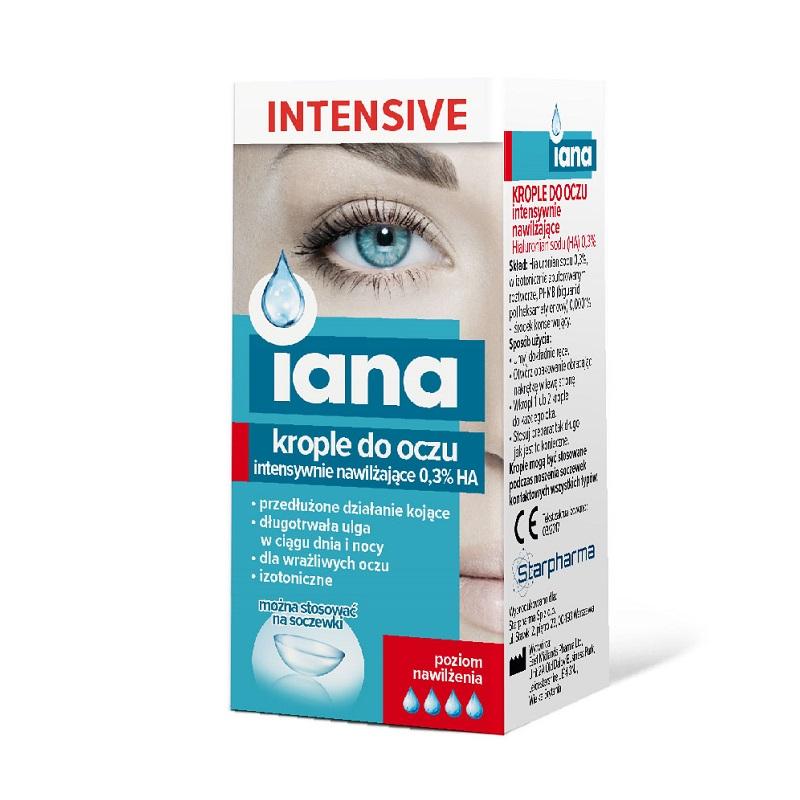 Starpharma Iana Krople Do Oczu Intensive