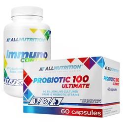 Immuno Control 90kap + Probiotic 100 Ultimate 60kap